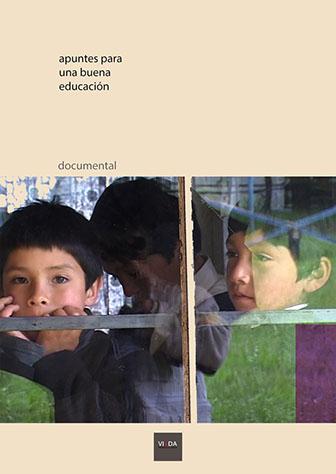 Carátula del documental Apuntes para una nueva educación