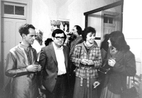 Millapol Gajardo, Fidel Sepúlveda, Soledad Manterola y Eliana Banda, 1971
