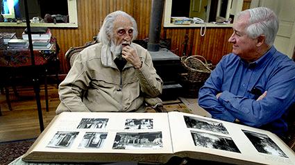 Gastón y José Luis en Limache