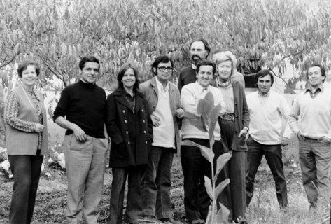 Grupo de profesores del Instituto de Estética, 1972